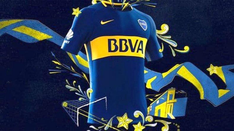 ¿Cómo es la nueva camiseta de Boca Juniors?