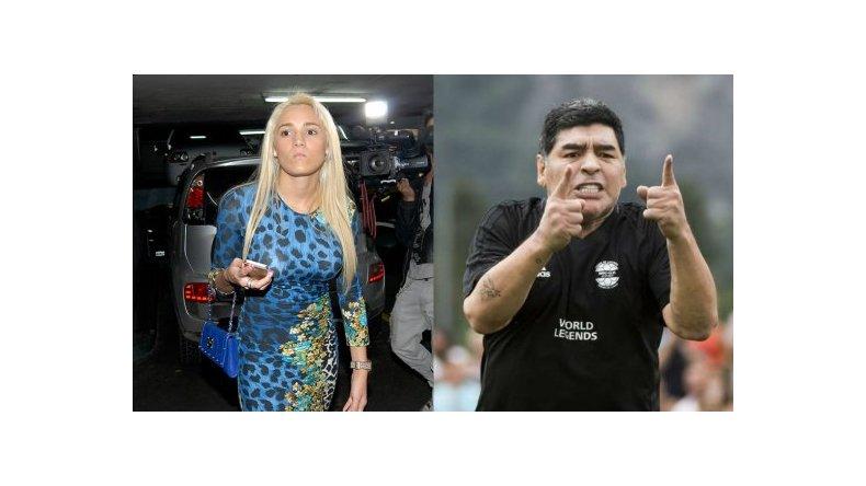 Rocío Oliva desmintió haber tratado de cornudo a Diego Maradona