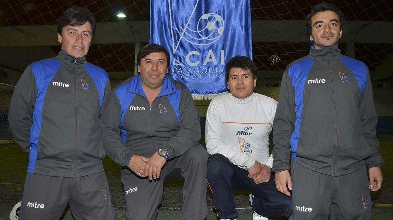 Mancilla junto a Carlos Ojeda