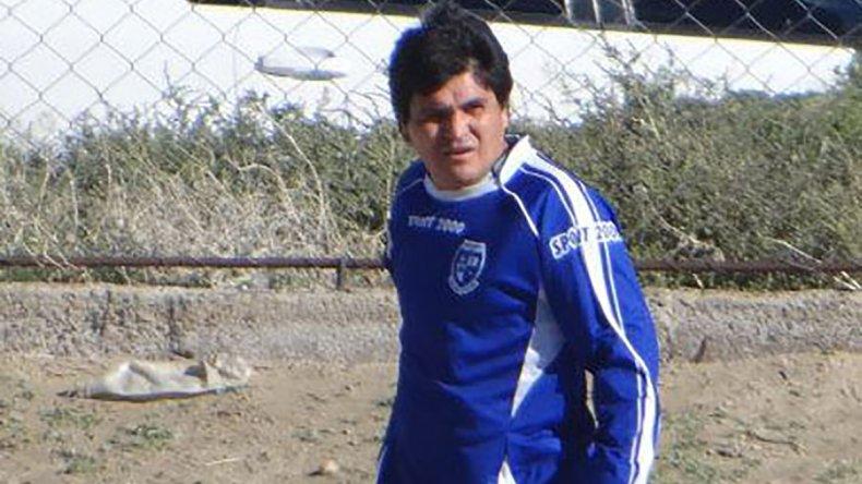 Juan Mancilla con los colores de San Martín