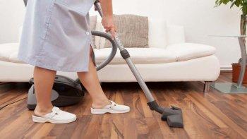 Se estima que solo están registradas dos de cada diez personas que trabajan en el servicio doméstico.