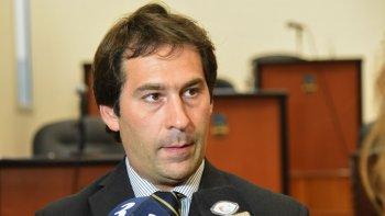 El viceintendente Juan Pablo Luque criticó al Gobierno nacional por la falta de obras públicas en Comodoro Rivadavia.