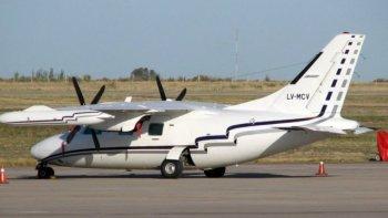 buscan una avioneta que despego del aerodromo de san fernando