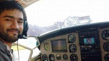 La última comunicación del piloto de la avioneta desaparecida