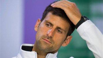 Novak Djokovic se perderá por primera vez un Grand Slam, pero prefiere recuperarse al ciento por ciento para el año que viene.