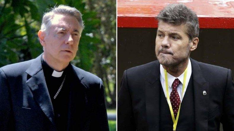 Monseñor le pidió a Tinelli que deje de usar la frase por Dios