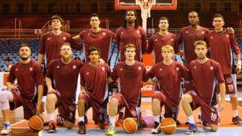 El plantel de Salta Basket que disputó la última temporada del Torneo Nacional de Ascenso.