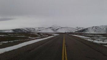 Rutas: hay sectores con hielo en la calzada