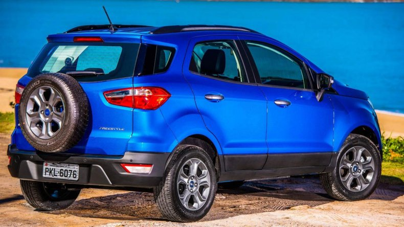 Así es la gama de la renovada Ford EcoSport