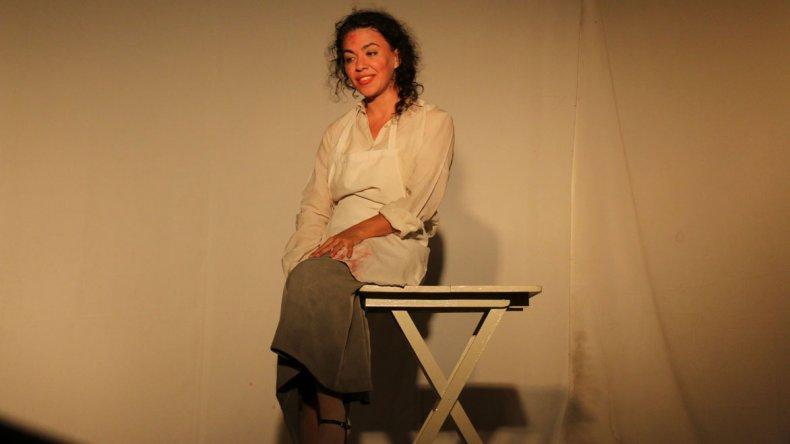 La actriz Breña Peluffo