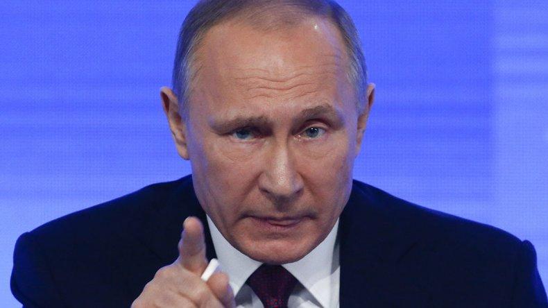 Vladimir Putin anunció ayer que expulsará a 755 funcionarios estadounidenses