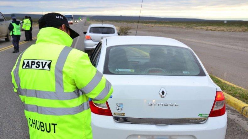 Controlaron más de 600 vehículos durante el fin de semana