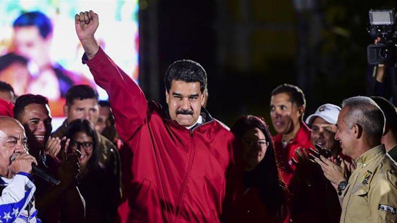 Maduro cruzó a Trump por las sanciones contra Venezuela.