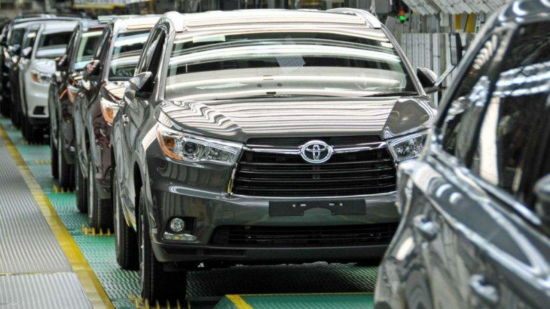 Toyota produjo en el primer semestre un 45% más que el año pasado