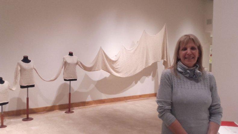 Patricia Pinto inauguró la muestra de arte contemporáneo Resiliente