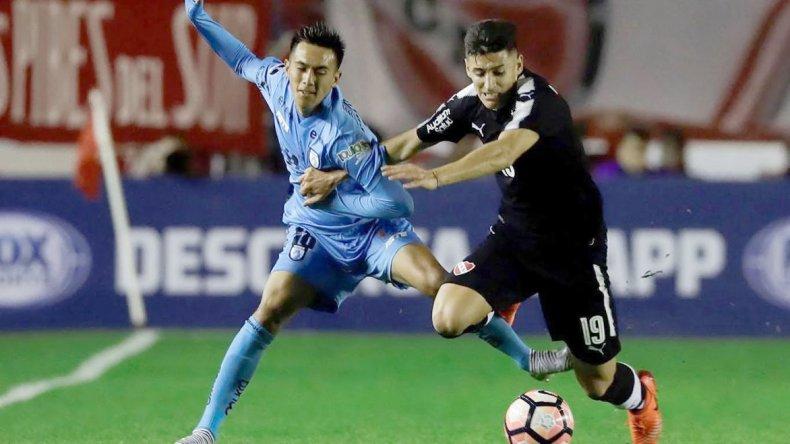 Independiente venció 4-2 a Iquique en el partido de ida jugado en Avellaneda.
