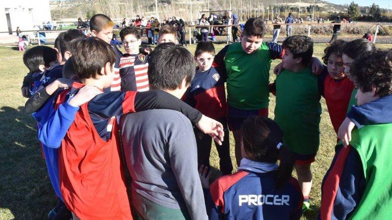 En Astra se vivió la última práctica de Probá Rugby