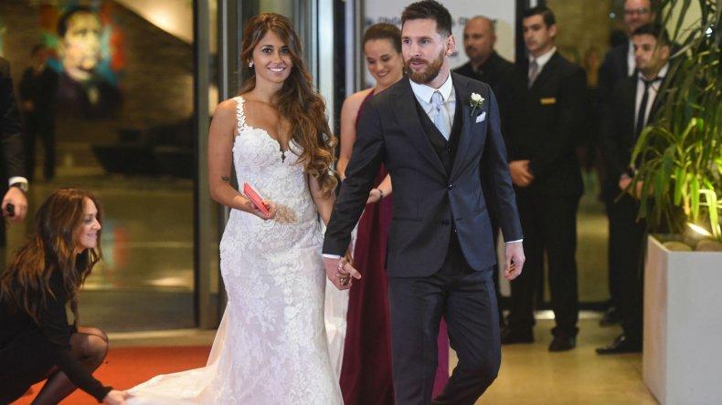 ¿Cuánto donaron los invitados de Messi en su casamiento?