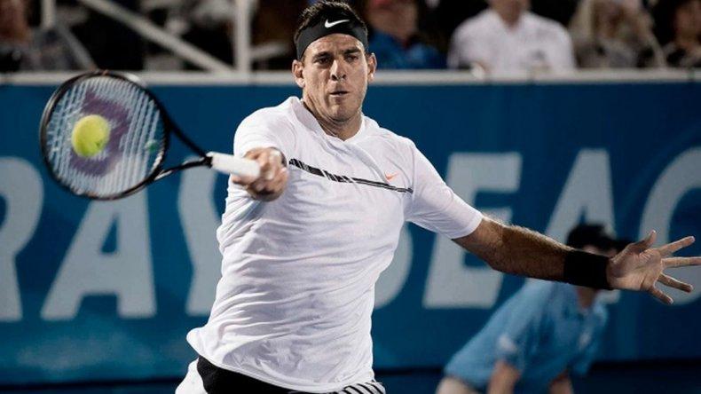 Del Potro venció al eslovaco Lacko y avanza en el ATP de Washington
