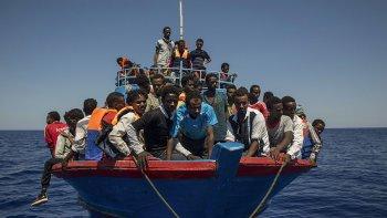 En los primeros siete meses de este año más de 95 mil inmigrantes procedentes de Africa y Asia desembarcaron en las costas italianas.