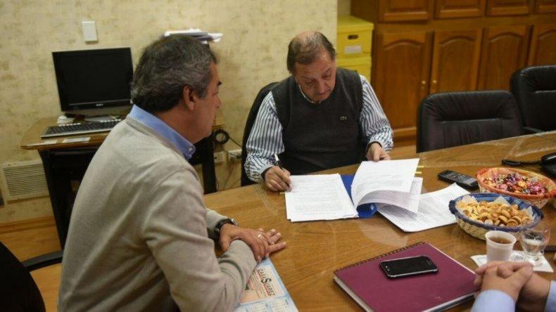 El municipio canceló una deuda que mantenía con la SCPL