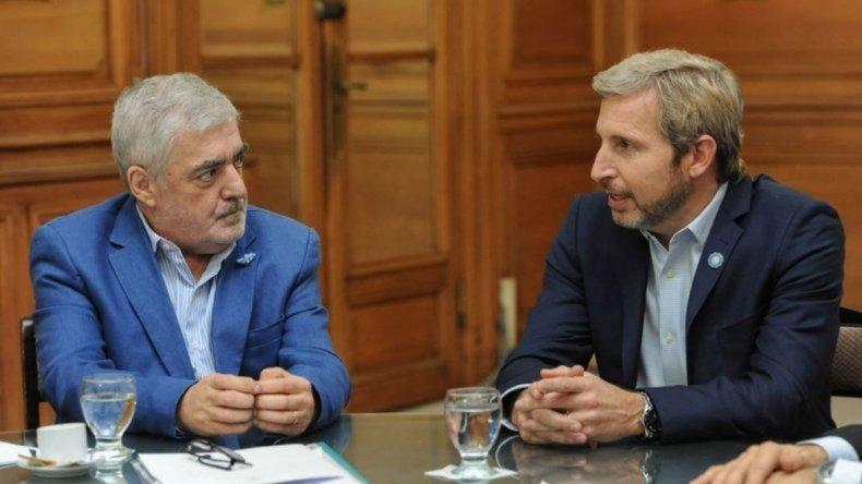 Das Neves se reúne con Frigerio: me interesa que los temas se resuelvan
