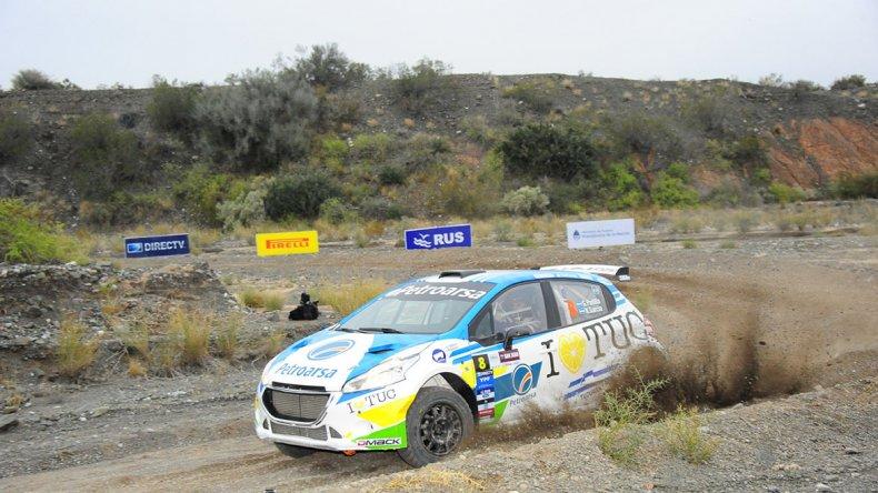Gerónimo Padilla es el puntero del Campeonato MR del Rally Argentino.