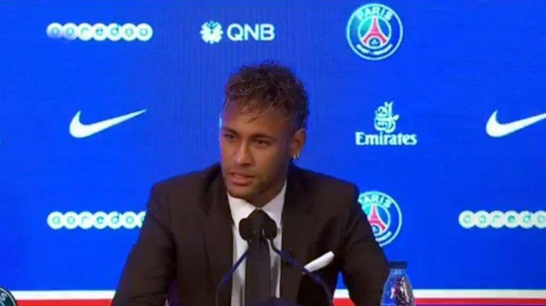 Neymar contó por qué dejo el Barcelona para irse al PSG