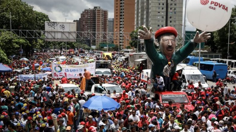 En medio de un fuerte rechazo, Maduro inauguró la Asamblea Constituyente