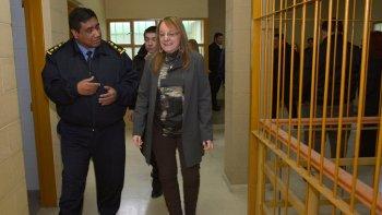 La gobernadora Alicia Kirchner recorrió ayer las instalaciones del ex Centro Juvenil de Río Gallegos, el cual se transformará en un Complejo Penitenciario.