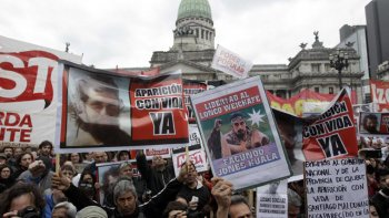 En distintas ciudades del país hubo manifestaciones ayer, al cumplirse una semana del joven desaparecido en Chubut.