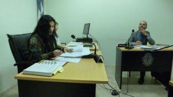 La jueza penal Gladys Olavarría homologó el acuerdo de reparación económica a pedido de las partes.
