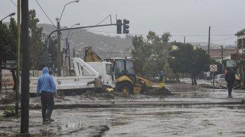 Extreman precauciones frente al pronóstico de fuertes lluvias para el domingo y lunes.