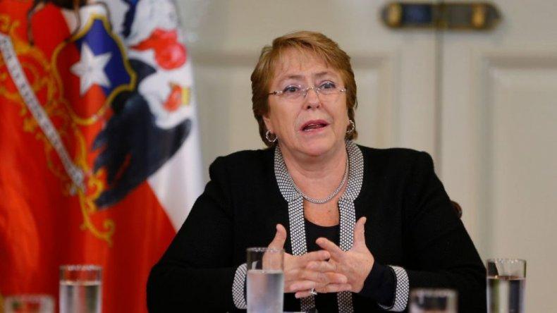 Michelle Bachelet pide perdón al pueblo mapuche