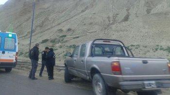 camionero protagonizo un accidente en el ingreso a comodoro