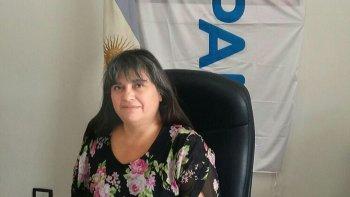 Lidia Córdoba, titular de PAMI en Chubut.