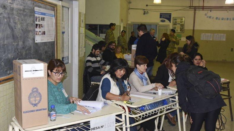 PASO 2017: la votación en Comodoro Rivadavia