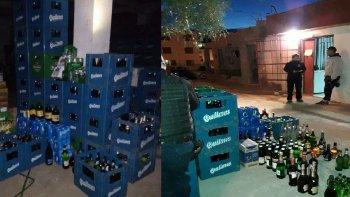 allanan tres kioscos que vendian alcohol fuera del horario permitido en las 1008 viviendas
