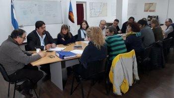 ingenieros, arquitectos y el concejo avanzan con la planificacion urbana