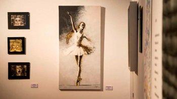 En el Centro Cultural está abierta la exposición Habitado por ellas, en la que se observan obras que dan cuenta del habitar de mujeres en la ciudad.