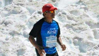 De Sarmiento al desierto en Perú, Anastasio Antileo busca apoyo para ser parte de la 1ª edición del Maratón Des Sables en Perú.