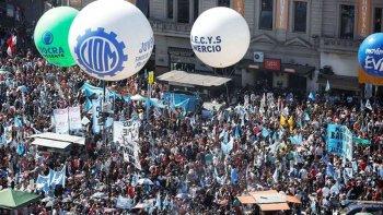 la cgt ratifico la marcha contra el ajuste de macri