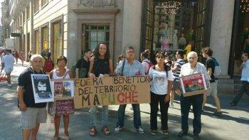 recorre el mundo el pedido de la aparicion con vida de santiago maldonado