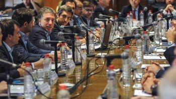 El encuentro de los ministros de Economía de las provincias con el ministro de Hacienda de la Nación, Nicolás Dujovne.