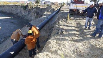 finalizo la instalacion de las primeras etapas de redes de agua
