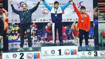 almendra se corono campeon del panamericano en chile