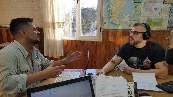 Diego Carbone en diálogo con David Klappenbach.