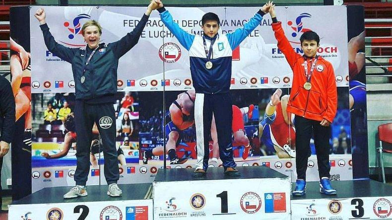Almendra se consagró campeón del Panamericano escolar en Chile