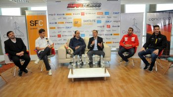La presentación de la octava fecha del Super TC2000 se realizó ayer al mediodía en Santa Fe.