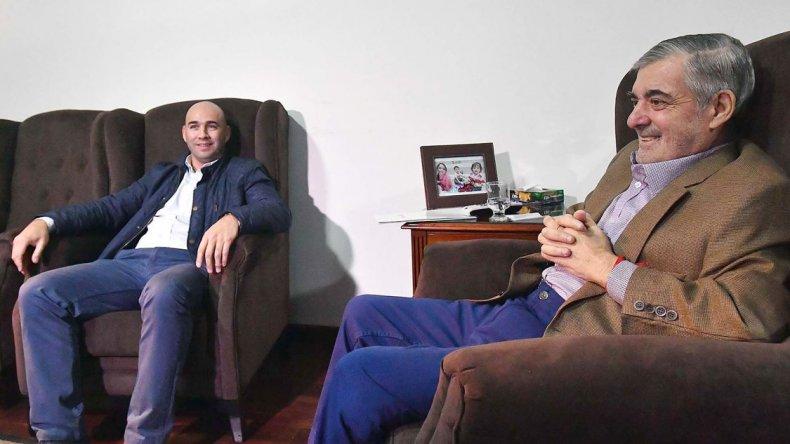 Cone Díaz con Das Neves